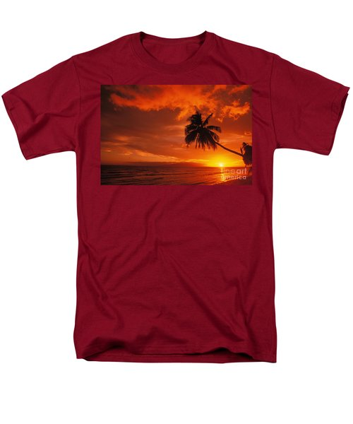 Maui, A Beautiful Sunset T-Shirt by Ron Dahlquist - Printscapes