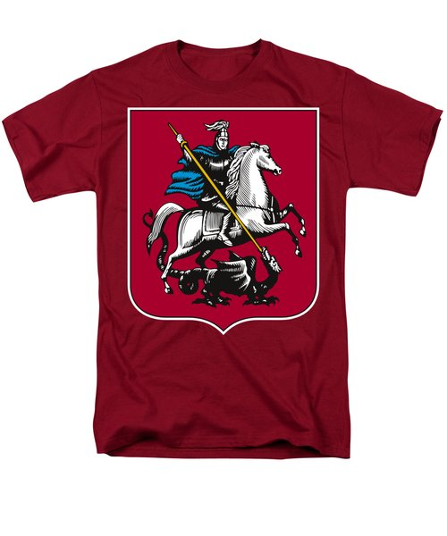 Moscow Coat Of Arms Men's T-Shirt  (Regular Fit) by Frederick Holiday