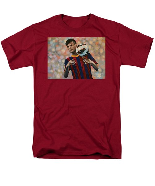 Neymar Men's T-Shirt  (Regular Fit) by Paul Meijering