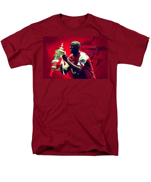 Patrick Vieira Men's T-Shirt  (Regular Fit) by Semih Yurdabak