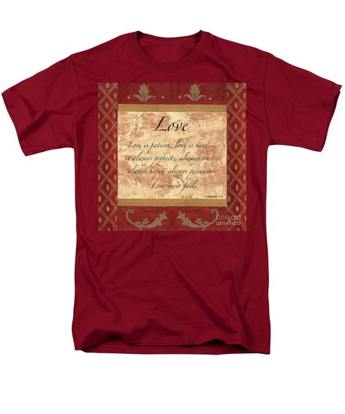 Red Traditional Love T-Shirt by Debbie DeWitt
