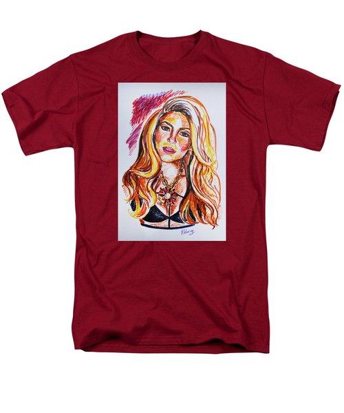 Shakira Men's T-Shirt  (Regular Fit) by Viktoriya Lavtsevich