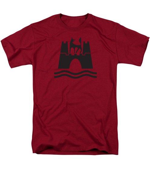 Wolfburg Logo Men's T-Shirt  (Regular Fit) by Ed Jackson