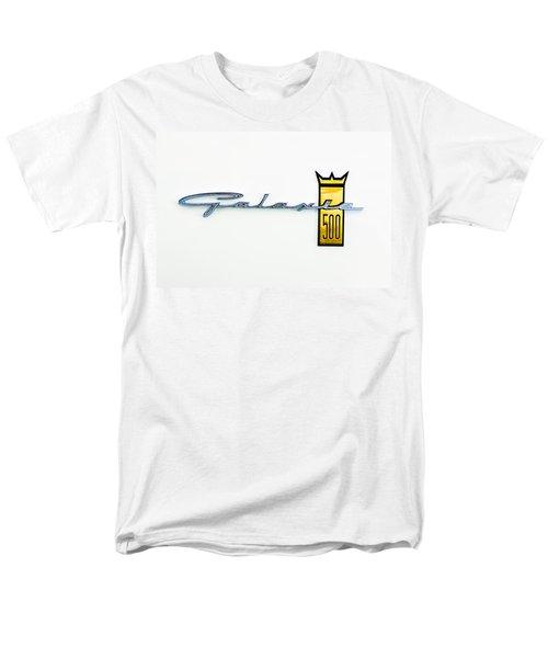 1963 Ford Galaxie 500 R-Code Factory Lightweight Emblem T-Shirt by Jill Reger