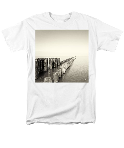 Breakwaters T-Shirt by Wim Lanclus