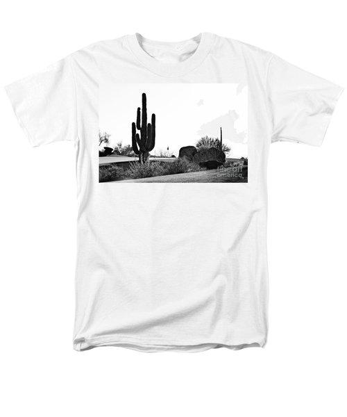 Cactus Golf T-Shirt by Scott Pellegrin