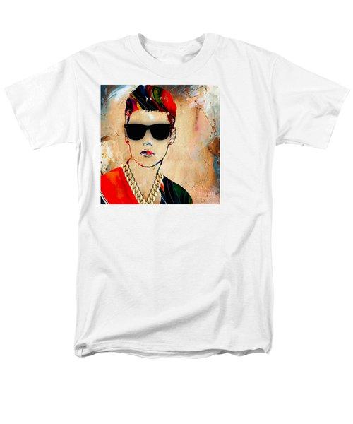 Justin Bieber Collection Men's T-Shirt  (Regular Fit) by Marvin Blaine