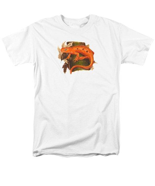 Red Eft Men's T-Shirt  (Regular Fit) by Cindy Hitchcock