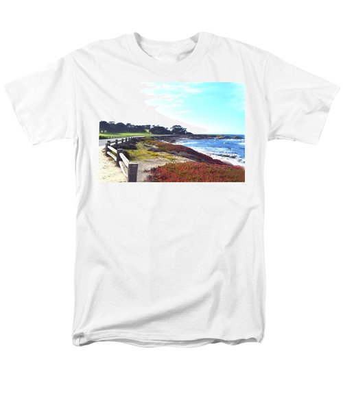 17 Mile Drive Shore Line II T-Shirt by Barbara Snyder