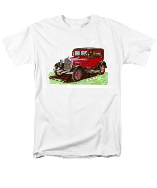 1928 Ford model A two door T-Shirt by Jack Pumphrey