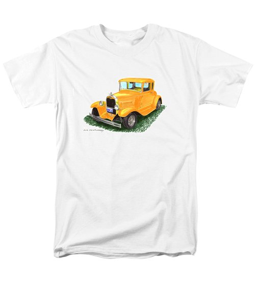 1931 Yellow Ford Coupe T-Shirt by Jack Pumphrey