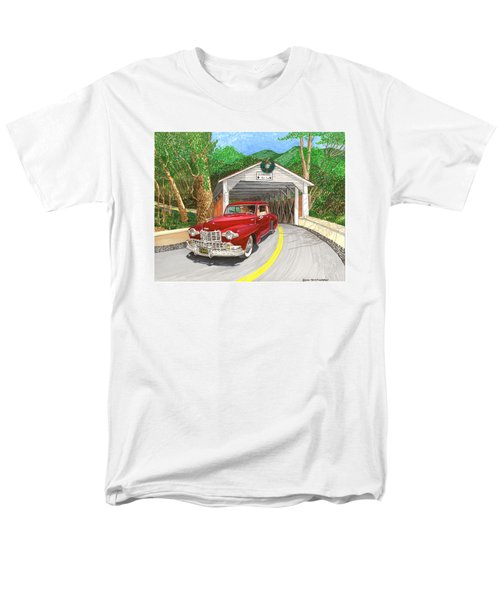 covered bridges paintings t shirts for sale. Black Bedroom Furniture Sets. Home Design Ideas