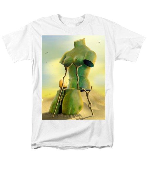 Crutches Men's T-Shirt  (Regular Fit) by Mike McGlothlen