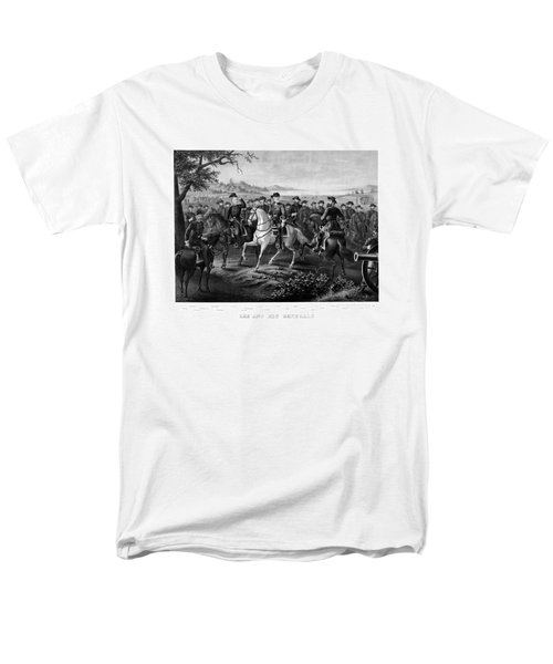 Lee and His Generals T-Shirt by War Is Hell Store