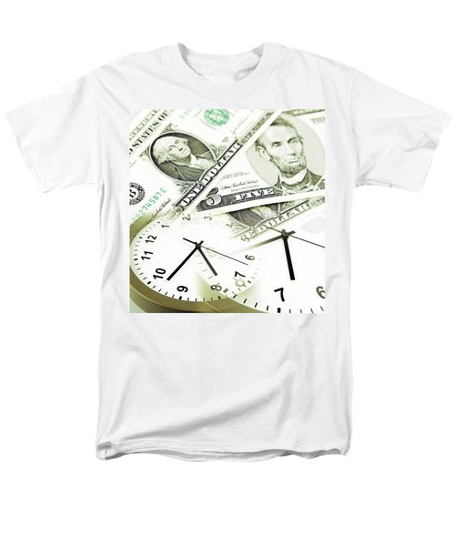 Time is money concept T-Shirt by Les Cunliffe