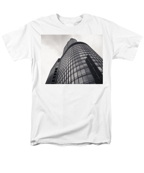 Trump Tower Chicago Men's T-Shirt  (Regular Fit) by Adam Romanowicz
