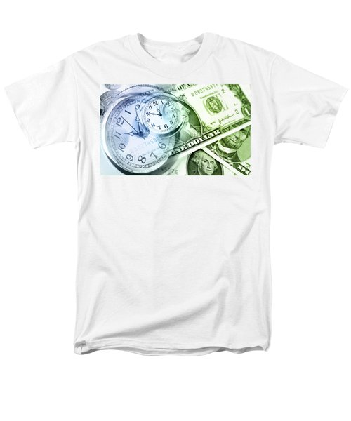 Time is money T-Shirt by Les Cunliffe