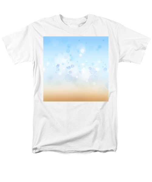Abstract background T-Shirt by Les Cunliffe