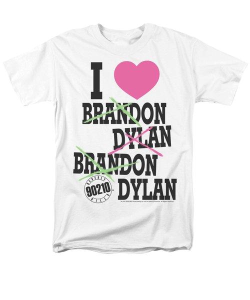 90210 - I Heart 90210 Men's T-Shirt  (Regular Fit) by Brand A
