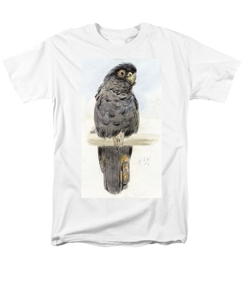 A Black Cockatoo Men's T-Shirt  (Regular Fit) by Henry Stacey Marks
