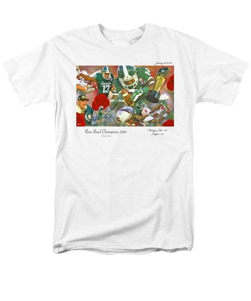 A Very Sweet Rose Men's T-Shirt  (Regular Fit) by John Farr