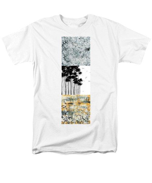 Abstract art Original Landscape Pattern Painting by Megan Duncanson T-Shirt by Megan Duncanson