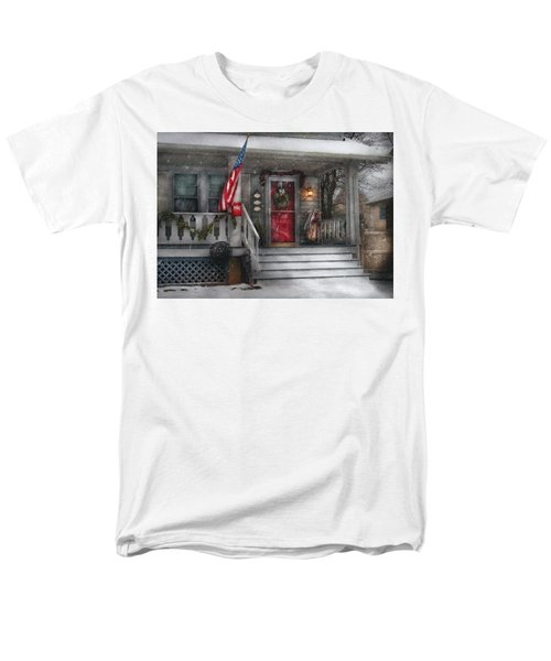 Americana - A Tribute to Rockwell - Westfield NJ T-Shirt by Mike Savad