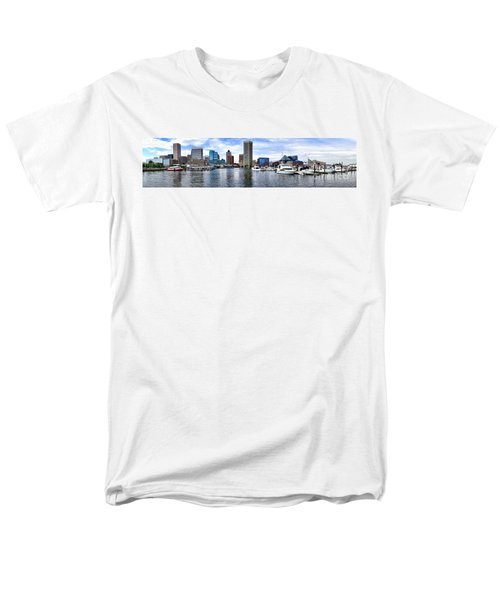 Baltimore Inner Harbor Marina - Generic T-Shirt by Olivier Le Queinec