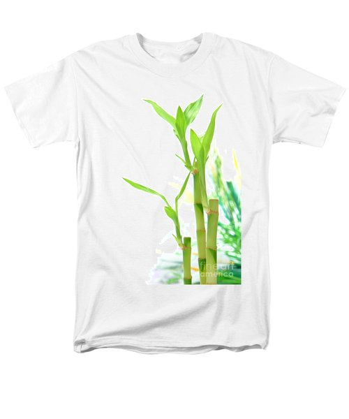 Bamboo Stems and Leaves T-Shirt by Olivier Le Queinec