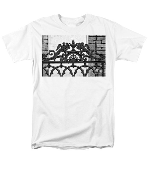 Black and White Ironwork T-Shirt by Alys Caviness-Gober