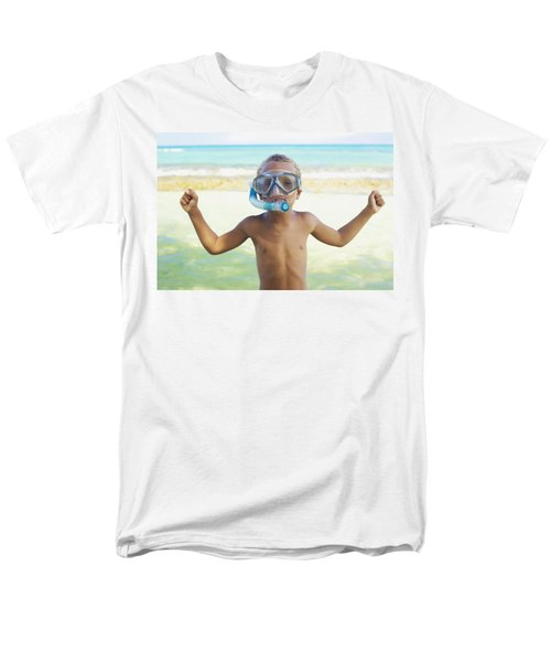 Boy with Snorkel T-Shirt by Kicka Witte