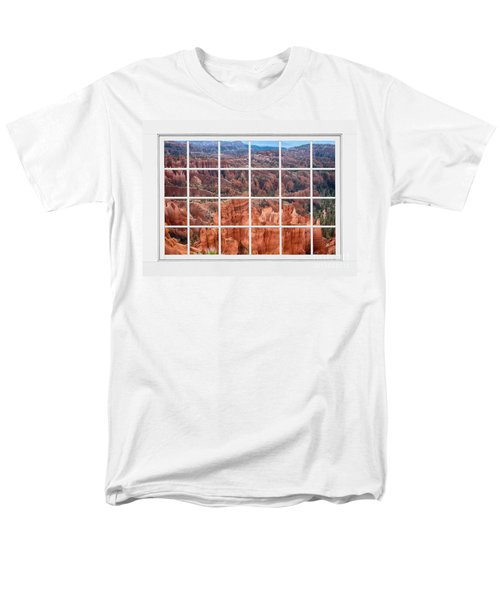 Bryce Canyon White Picture Window View T-Shirt by James BO  Insogna