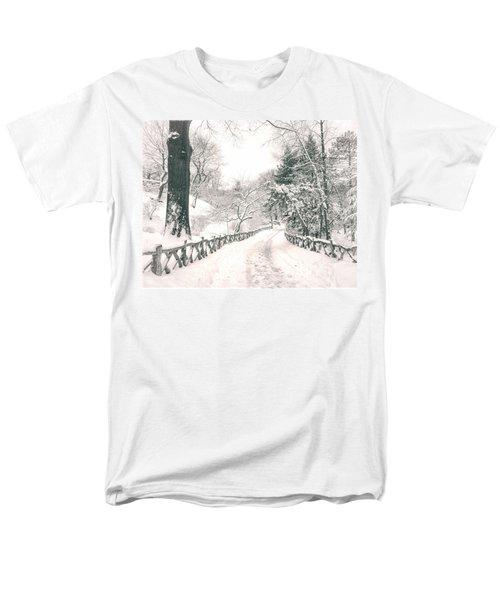 Central Park Winter Landscape T-Shirt by Vivienne Gucwa