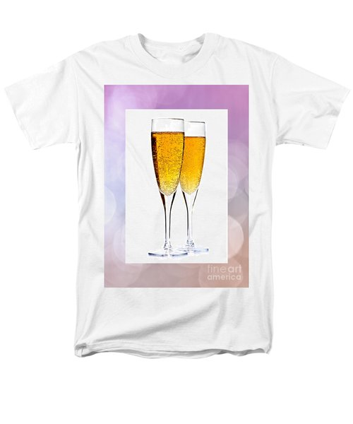 Champagne in glasses T-Shirt by Elena Elisseeva