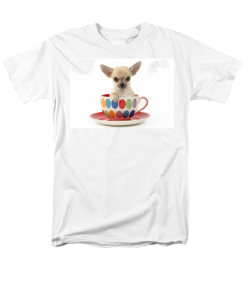 Chihuahua in Cup DP684 T-Shirt by Greg Cuddiford