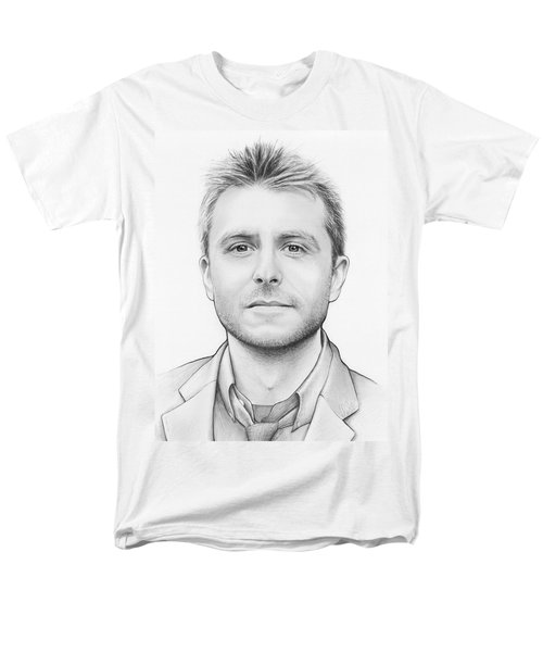 Chris Hardwick T-Shirt by Olga Shvartsur