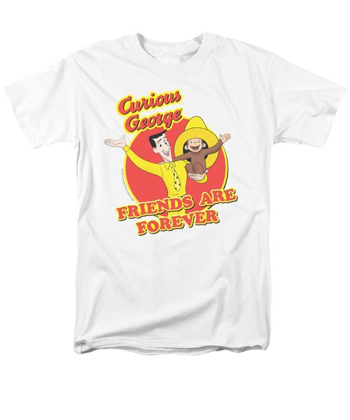 Curious George - Friends Men's T-Shirt  (Regular Fit) by Brand A