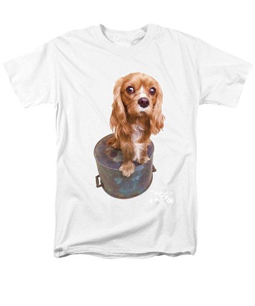 Cute Puppy Card T-Shirt by Edward Fielding