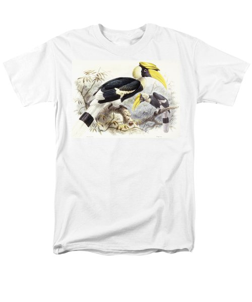Dichocerus Bicornis Men's T-Shirt  (Regular Fit) by Johan Gerard Keulemans