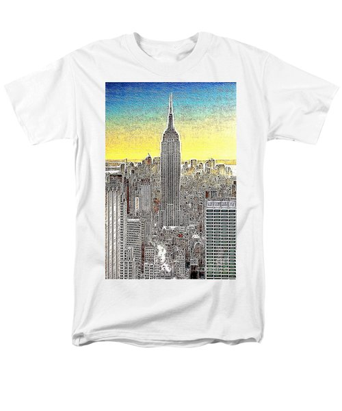 Empire State Building New York City 20130425 T-Shirt by Wingsdomain Art and Photography