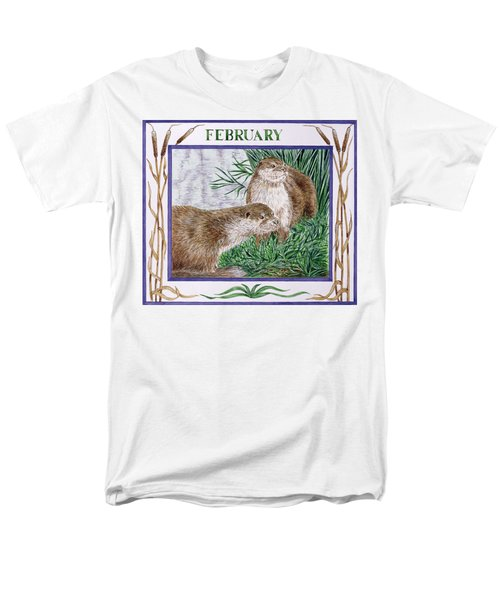 February Wc On Paper Men's T-Shirt  (Regular Fit) by Catherine Bradbury