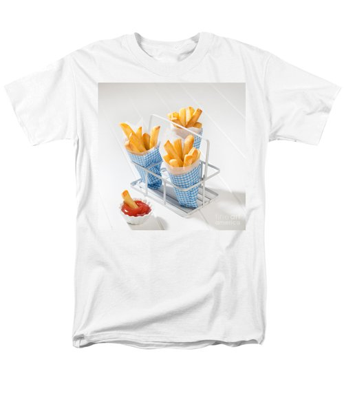 Fries Men's T-Shirt  (Regular Fit) by Amanda Elwell