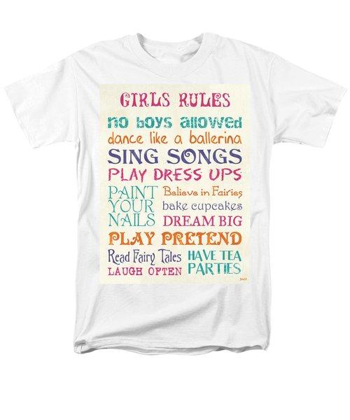 Girls Rules T-Shirt by Debbie DeWitt