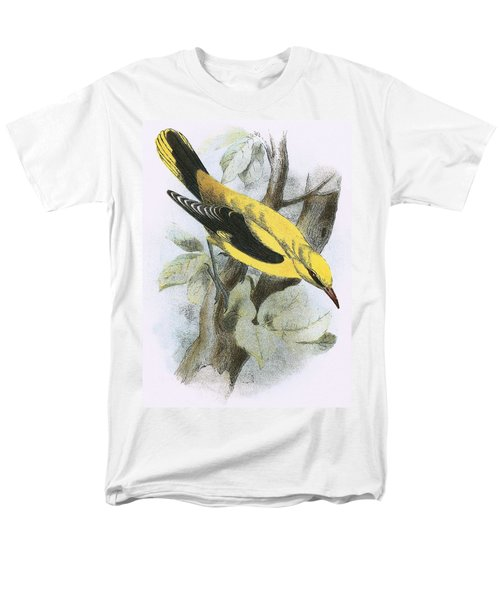 Golden Oriole Men's T-Shirt  (Regular Fit) by English School