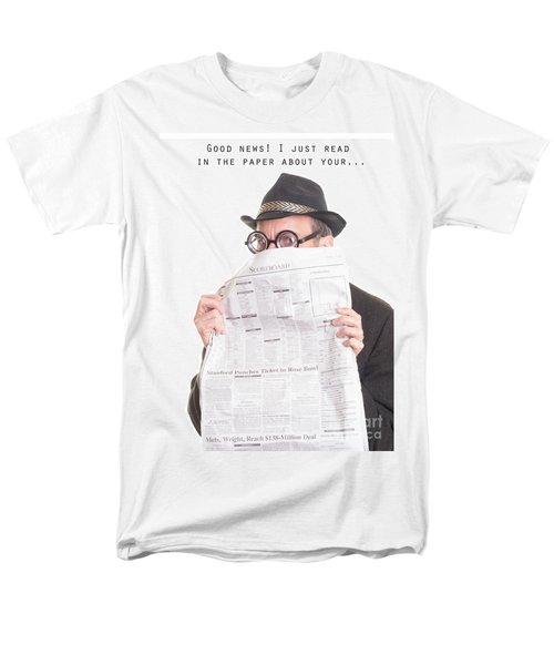 Good News T-Shirt by Edward Fielding