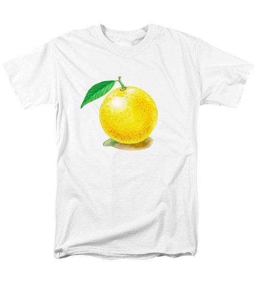 Grapefruit Men's T-Shirt  (Regular Fit) by Irina Sztukowski