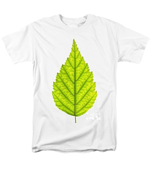 Green tree leaf T-Shirt by Elena Elisseeva