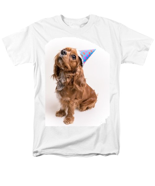 Happy Birthday Dog T-Shirt by Edward Fielding