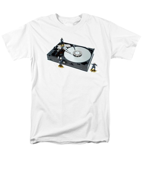 Hard Drive Security T-Shirt by Olivier Le Queinec