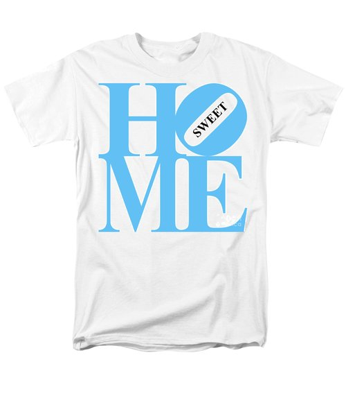 Home Sweet Home 20130713 Blue White Black T-Shirt by Wingsdomain Art and Photography